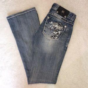 Miss Me Bootcut Jeans Sz 25